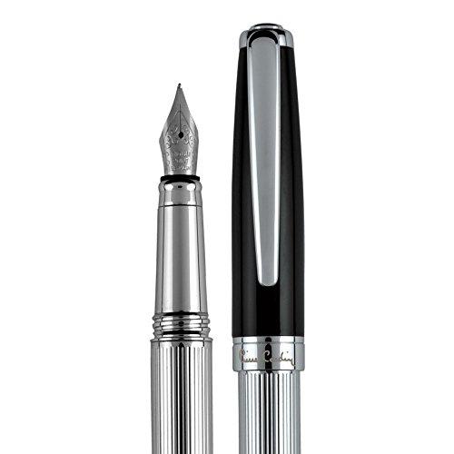 PIERRE CARDIN Füllfederhalter edel Tintenfüller fountain pen Luxus Füller aus Metall Fueller hochwertig CHRISTOPHE FF
