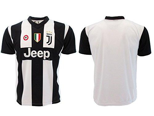 Maglia Juventus neutra 2019 Ufficiale stagione 2018/2019 Replica Autorizzata Senza Nome Senza Numero (8 anni)