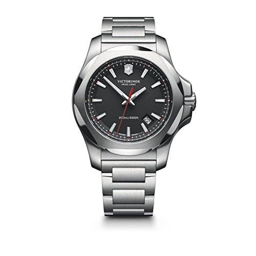 Victorinox Swiss Army Herren-Armbanduhr I.N.O.X. Analog Quarz Edelstahl 241723.1 (Victorinox Inox Uhr)