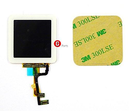 ay Touchscreen Glas Digitizer Einheit WEIß für iPod Nano 6 Generation -Ink Doppelseitigen 3M Klebestreifen NEU ()
