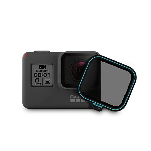 AFAITH Polfilter Polarisationsfilter Square Lens Protector Schutz CPL Lens Filter für GoPro Hero 5 Hero 6 Hero 7 Black GP113
