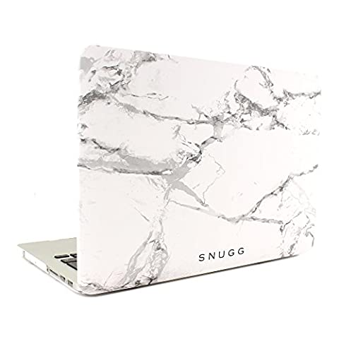 Macbook Pro 15 Hülle, Snugg Apple Macbook Pro 15 Hülle Case Tasche [Deluxe Satin Touch] Ultra Slim - Weiss