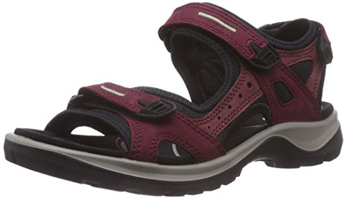 Ecco ECCO OFFROAD, Damen Sport- & Outdoor Sandalen, Violett (59277morillo/port/black), 42 EU (8 UK) -