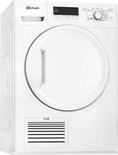 Bauknecht TK Plus 7A3BW Wärmepumpentrockner / 7 kg / Startzeitvorwahl Weiß / Verbesserter Knitterschutz / Supersanft- Programm für sehr empfindliche Textilien