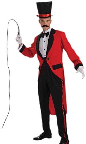 (Faschingsfete Herren Zirkusdirektor Dompteur Karneval Faschingskostüm, M, Mehrfarbig)