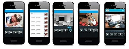 D-Link DCS-5222L WLAN-Überwachungskamera (Aufnahmen in HD Qualität, Tag und Nacht, mit Schwenk-, Neige- und Zoomfunktion, fernsteuerbar, mydlink-App für iOS und Android)