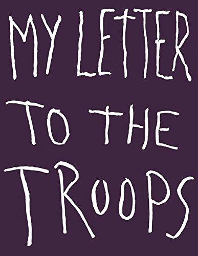 My letter to the troops par Jim Dine
