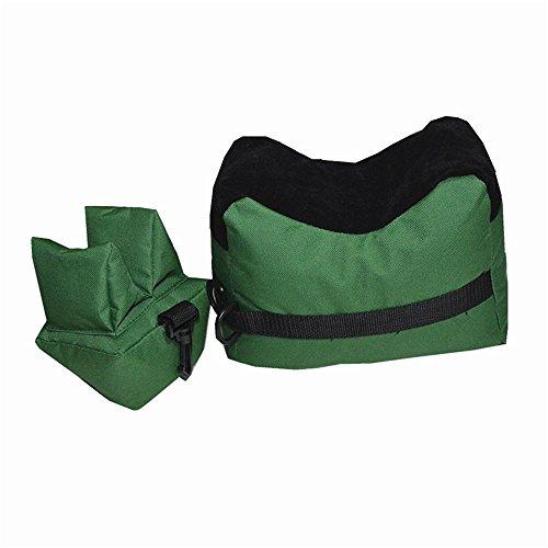 Poloeds 1Pcs Shooting Gun Rest Bag Set Front&Rear Rifle Target Hunting Bench Bag Sandbag Unfilled Stand Hunting Gun Accessories