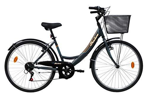 VTC 26' Femme Shadow - 6 Vitesses - Freins V-Brake +...