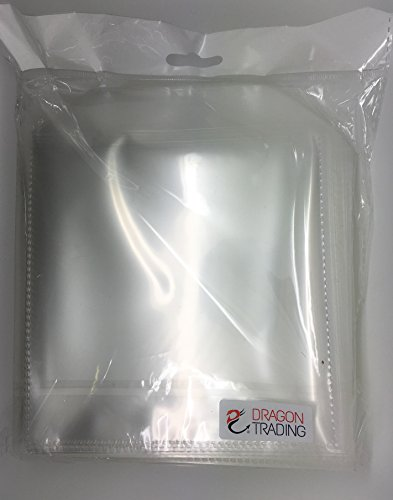 50-x-cd-dvd-disc-clear-cover-cases-plastic-150-micron-sleeve-wallet-50-pack-branded-dragon-tradingr