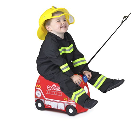 Trunki Ride-on Suitcase – Frank the Fire Engine