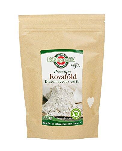 Kieselgur / Diatomaceous Earth Pulver extra fein(Lebensmittelqualität) 250g