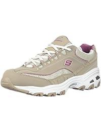 Skechers 11936 - Chaussures En Cuir Autre Femme, Blanc, Taille 39 Eu