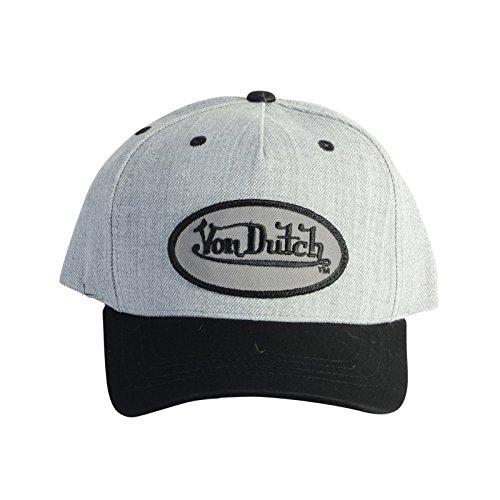 von-dutch-casquette-baseball-von-dutch-smith-grise-et-noire-gris-taille-unique-homme-femme