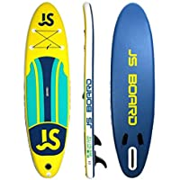 Jsqianchen 10.9 Tabla de Surf Inflable Soft Top Junta de Sup para Adultos El Paquete