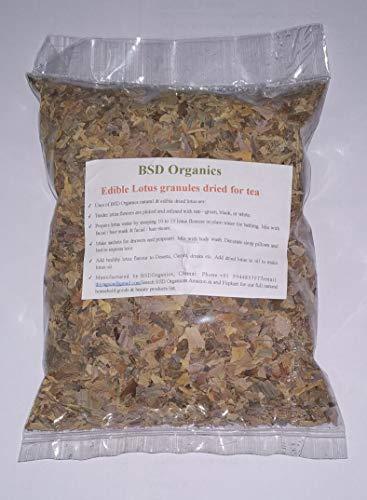 BSD Organics Edible Lotus Granules Dried for Tea, Garnishing and More, 30 g