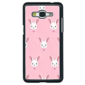EYP Rabbit Back Cover Case for Samsung Grand Prime