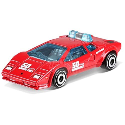 Hot Wheels 2018 50th Anniversary HW Exotics Lamborghini Countach Pace Car 217/365, Red