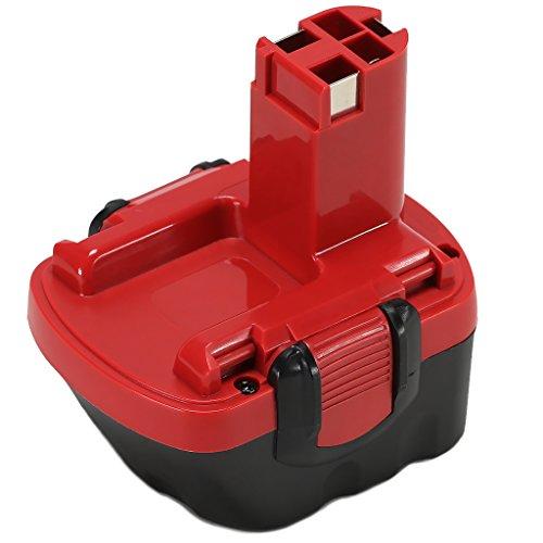 Preisvergleich Produktbild POWERAXIS für Bosch Akku 12V 3,0Ah NiMH Ersatzakku für Bosch BAT043 2607335261 GSR 12-2 BAT045 BAT046 BAT049 BAT120 GSB 12VE-2 PAG 12V PSB 12VE-2 PSR 12VE-2 2607335273 2607335274 2607335692