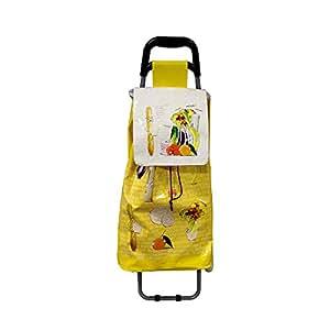 Chariot de shopping Ludik jaune