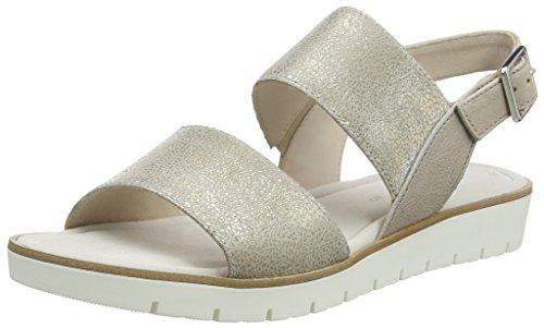 Gabor Fashion, Sandales Bout Ouvert Femme Beige (powder/alpaca 62)
