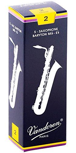 Classic Baritonsaxophon 2 Schachtel mit 5 Blättern
