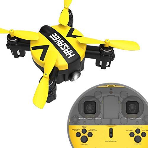 YEARYOWN Mini-Drohne, 6-Achsen-HD-Wi-Fi-Kamera, Live-Video mit Höhenhaltefunktion, Headless-Modus, 3D-Flip, EIN Schlüssel, Start/Landung, einfache Bedienung für Anfänger