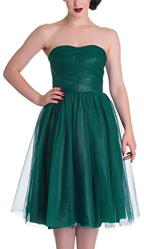 Hell Bunny Cocktailkleid TAMARA DRESS 4504 Green