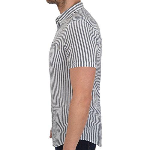 SoulStar -  Camicia Casual  - Maniche corte  - Uomo Black
