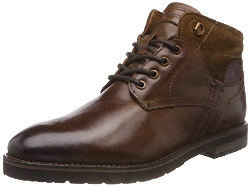 Salamander Herren Vasco-AW Biker Boots, Braun (Mid-Brown 64), 43 EU