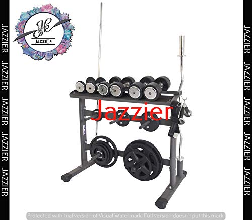 Jazzier Multi Weight Storage Rack (Without Dumbbells, Kettlebell, Gym Ball, and More) WR-03