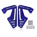XX ecommerce Motorrad Aluminium Heizkörper Seite, Platte COVER GUARD Displayschutzfolie passgenau für 2015–2016Yamaha MT FZ 1020Stück FZ1015–16, blau