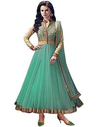 GREEN RIVERA Anarkali Suit ( Anarkali Suit For Women Latest Design Anarkali Suit New Collection 2017 Anarkali... - B0788S2TLY