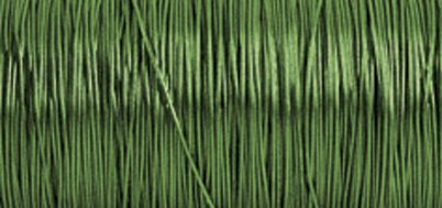 Rayher Hobby RAYHER - Schmuckhäkeldraht, 0,30 mm ø, Spule 50 m, SB-Btl. 1 Spule, hellgrün