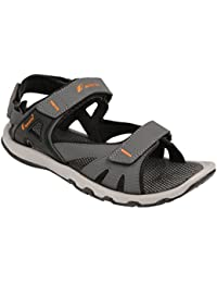 bd80a62d42bf Fsports Mens Grey and Orange Colour Spider Series Synthetic Casual Sandal
