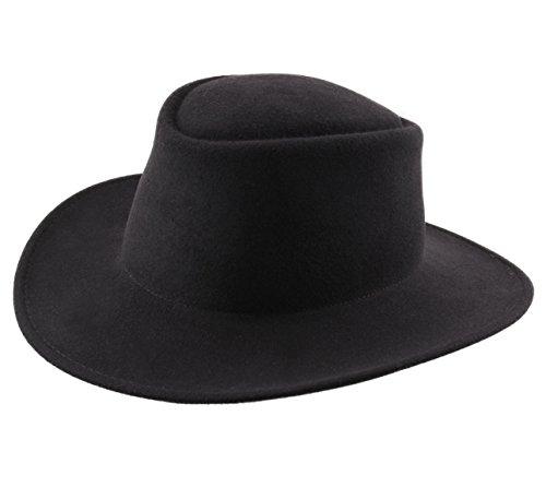 Classic Italy - Chapeau Fedora imperméable Feutre - 5 Coloris - Homme ou Femme Nude Cordobes