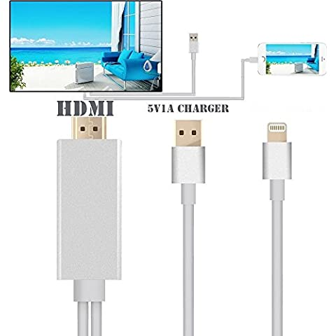 8 Pins Cable HDMI HDTV Digital AV Adaptador para iPhone 5/5S/6S/6/IPAD