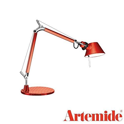 Artemide Tolomeo Micro LED Lampe de table rouge