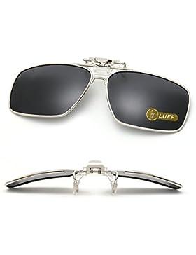 Clip en las gafas de sol polarizadas Mens/womens Flip up polarizado lentes de sol caber sobre gafas graduadas/...
