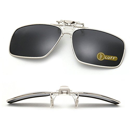 Clip gafas sol polarizadas Mens/womens Flip up polarizado