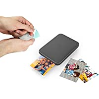 Lifeprint 3x4.5 Portable Photo AND Video Printer for iPhone and Android. Make Your Photos Come To Life w/Augmented Reality - Black