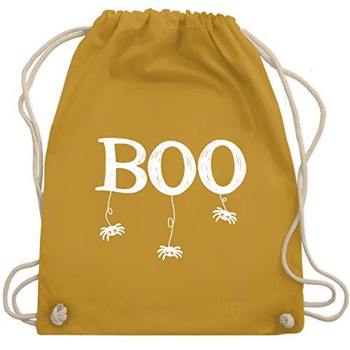 Baby Spinne Kostüm Verrückte - Halloween - Boo mit kleinen Spinnen - weiß - Unisize - Senfgelb - WM110 - Turnbeutel & Gym Bag