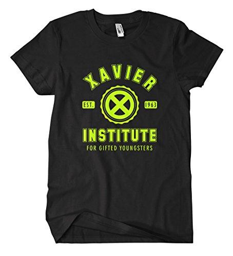 Xavier Institute T-Shirt (M, Schwarz)