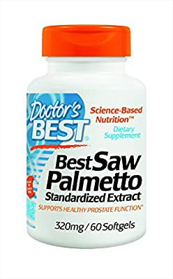 Saw Palmetto Standardized Extract 320mg 60 Sgels from dr best