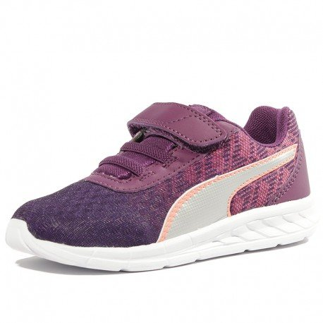 Puma Chaussures Comet V Infinity Violet Bébé Fille
