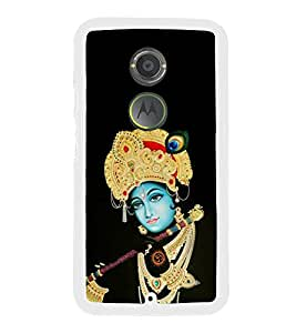 FUSON Krishna Playing Basuri Designer Back Case Cover for Motorola Moto X2 :: Motorola Moto X (2nd Gen)