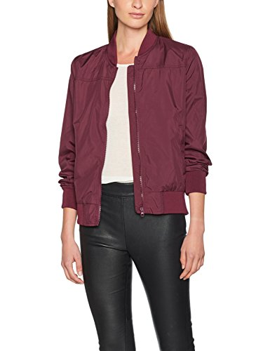 Brandit Damen Bomber Jacke Jula Girls Blousonjacket per pack, Rot (Rot (Burgundy 91) 91),Medium