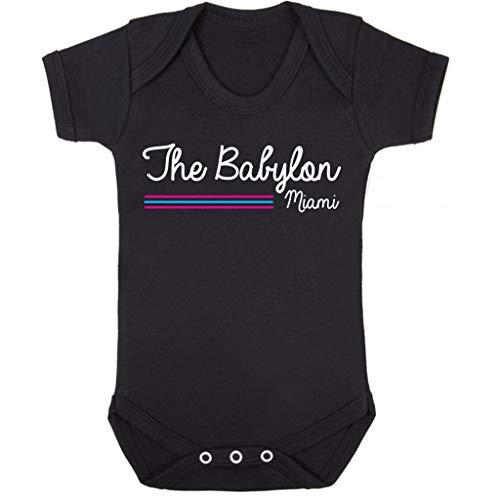 Scarface Babylon Club Miami Baby Grow Short Sleeve