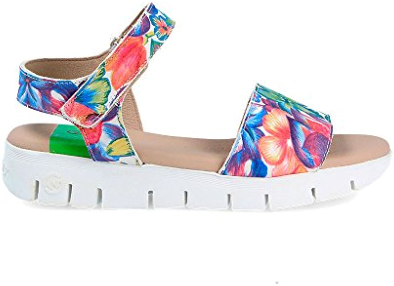 Sneaker Zapatilla Mujer Syndra-W Crust Flores Slowwalk