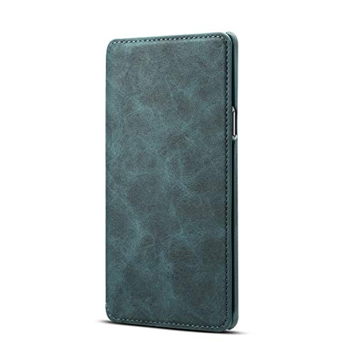 13peas Kompatibel für Galaxy Note 9 Handyhüllen, Premium PU S9 Schutzhülle Leder Hülle Tasche Cover Flip Case Magnetic Closure Standfunktion Lederhülle für Samsung Note 9 (Blue) Blue 9